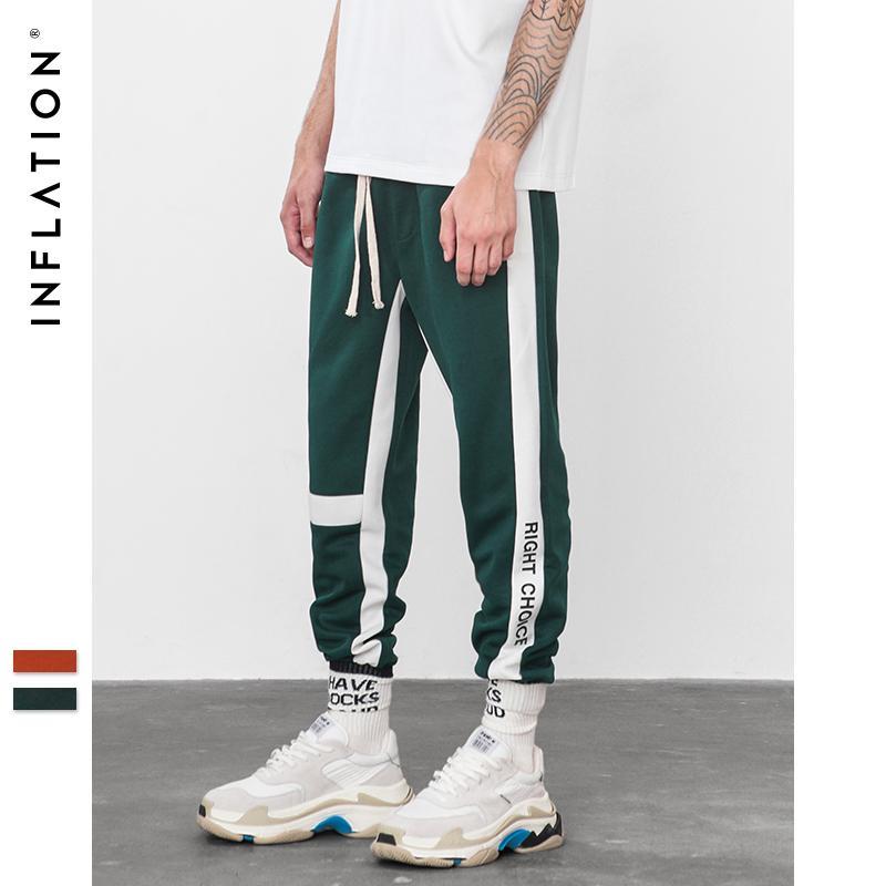 0e6942a5c INFLATION Right Choice Side Letter Print Vintage Sweatpants Retro Trousers  Men Track Pants Men Women Ins Fashion Pants 8841W Sweatpants Cheap  Sweatpants ...