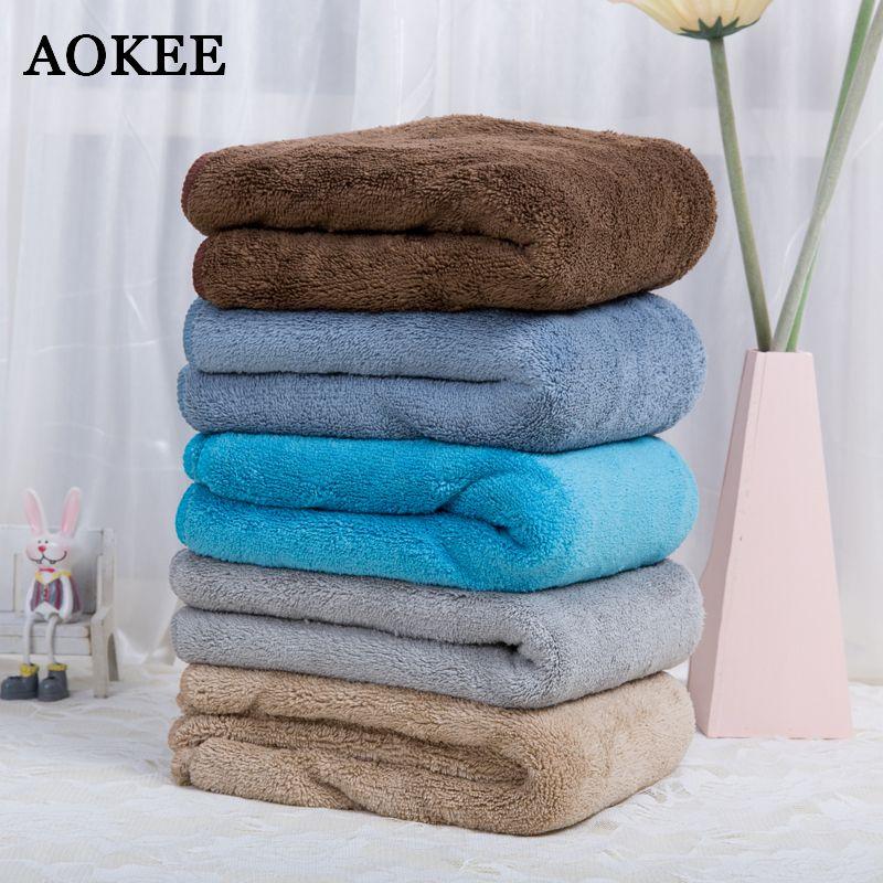 Softest Bath Towels Mesmerizing 60 60cm Aokee Brand Microfiber Bath Towel For Adults Thick Men
