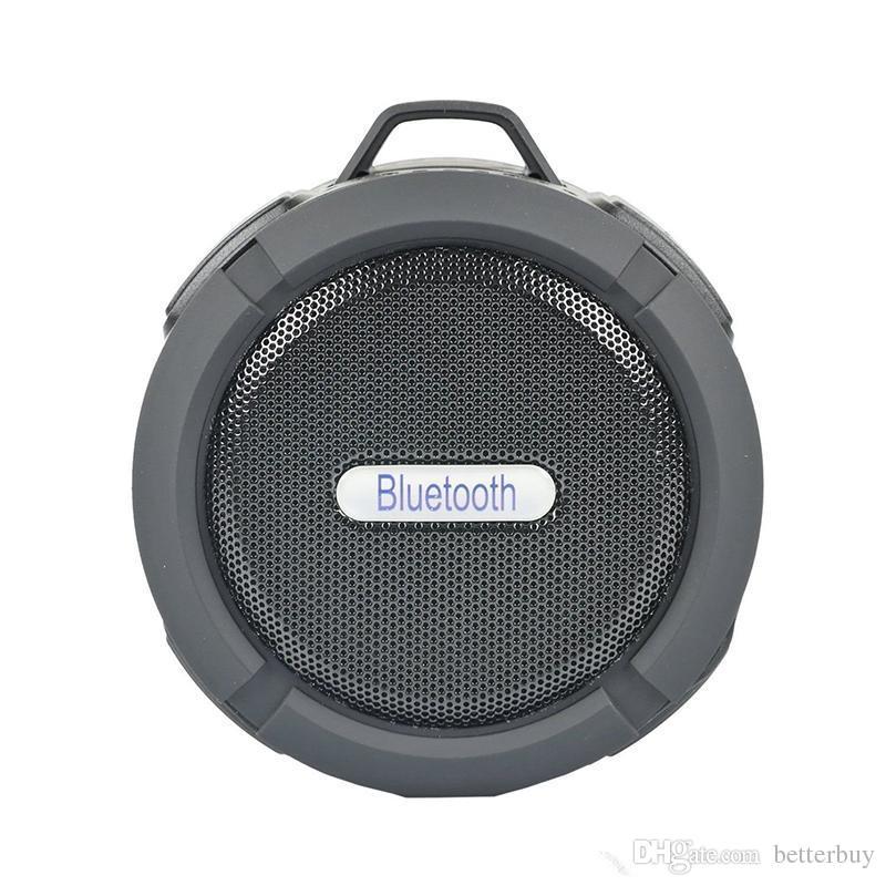 C6 Président Bluetooth Haut-Parleur Sans Fil Potable Audio Lecteur Haut-Parleur Hook Et Ventouse Stéréo Lecteur De Musique De Haute Qualité
