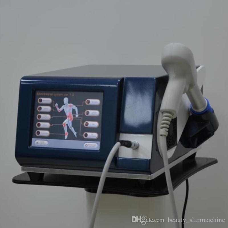 Sıcak Satış Şok Dalga Tedavisi Ekipmanları İçin Ağrı Tahliyesi Pnömatik Terapi Satılık Taşınabilir Shockwave Makinesi