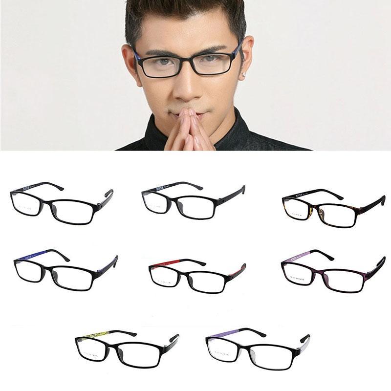 ee243535d Compre Unisex Óculos Ópticos Óculos De Armação Com Clear Glass Marca Clara  Óculos Transparentes Das Mulheres Dos Homens Quadros Oculos De Grau De ...