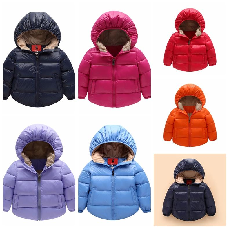Exactlyfz Baby Boys Winter Coats Outerwear Fashion Hooded Parkas Baby Jackets Thicken Warm Outer Clothing High Quality Cowboy Online Shop Mother & Kids Outerwear & Coats