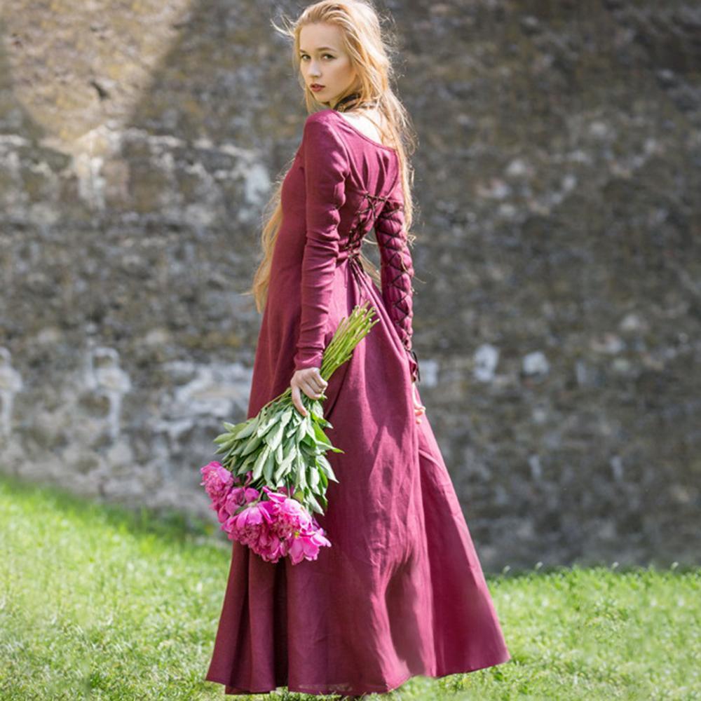 Vestidos de mujeres de la edad media