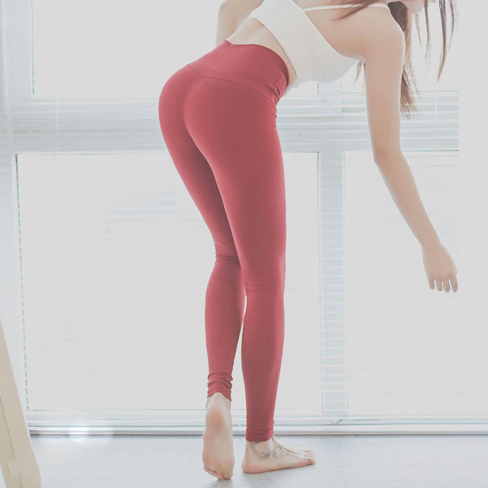 5634da59e7fc95 2019 Women 4 Way Stretch Yoga Pants Tummy Control Workout Yoga Leggings  High Waist Ultra Soft Lightweight Leggings Running Tights From  Streetwearstore, ...