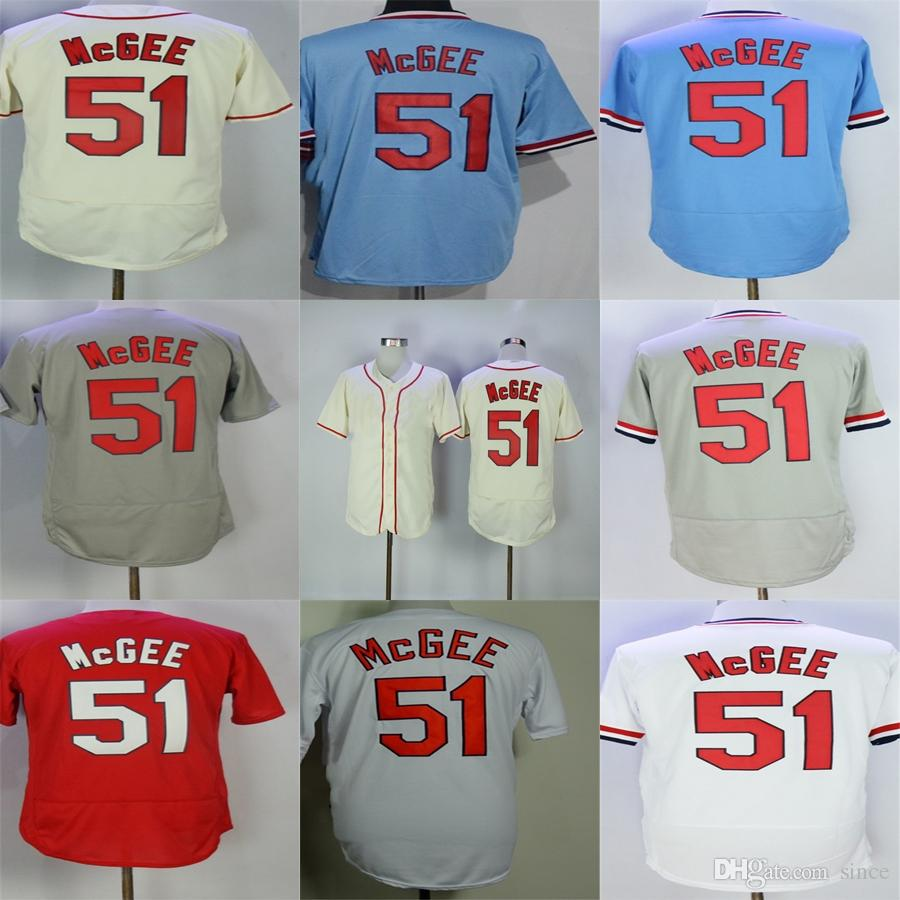 9bbbe499634 Factory Outlet Mens Womens Kids Toddlers St. Louis 51 Willie McGee ...