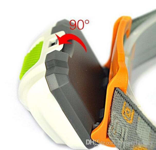 Przenośny CREE R3 Reflektory 2 LED Reflektory Latarniowe Outdoors 300LM Reflektor z pałąkiem Piesze turystyczne Palnik
