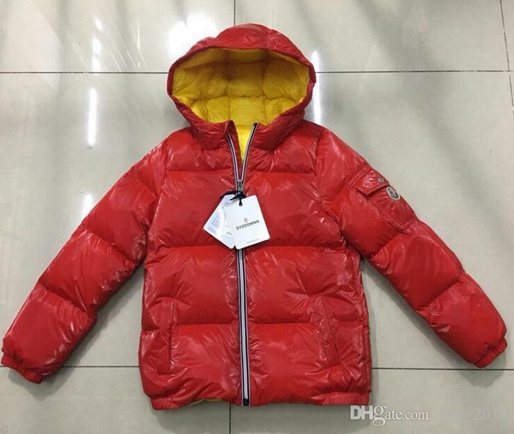 de9c12eee New Arrival Luxury Brand Boys Winter Down Jacket for Girls Down ...