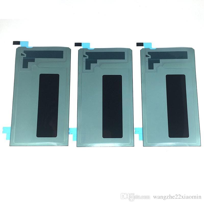 Pieza de repuesto de la etiqueta engomada adhesiva de la cinta adhesiva de la pantalla LCD para Samsung note5 note4 note3 Contraportada pegamento