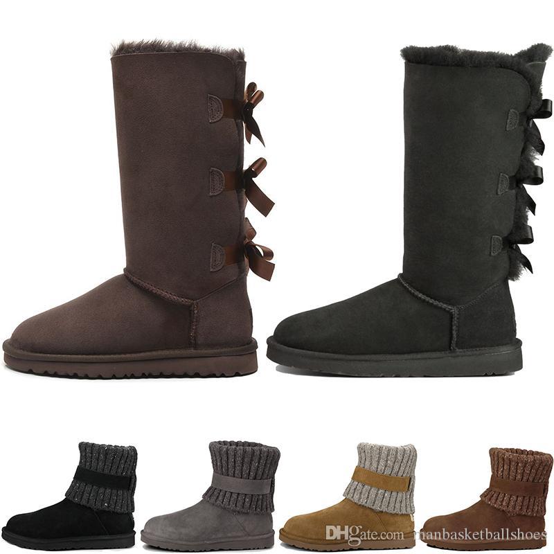a3a4a94d773af2 Großhandel U Ggs Designerschuhe Klassische Schneestiefel Günstige Damen  Winterstiefel Mode Rabatt Ankle Plus Baumwolle Snow Boots Schuhe Sneaker  Drop ...