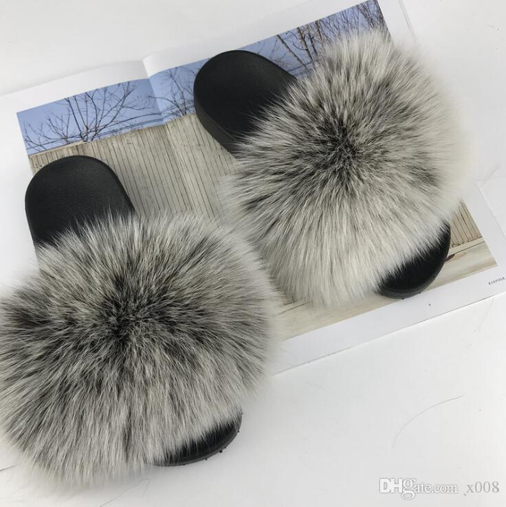 f00d556c578f26 Fur Slides Women Ostrich Home Slippers Feathers Fluffy 45Sweet Sandals  Beach Shoes Summer Pantufa Fashion Sliders Flip Flops White Boots Shoes Uk  From X008