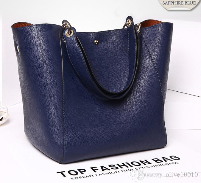 Luxury Women Handbag Famous Brand Shoulder Bags Solid Designer ... eedfcd5df3965
