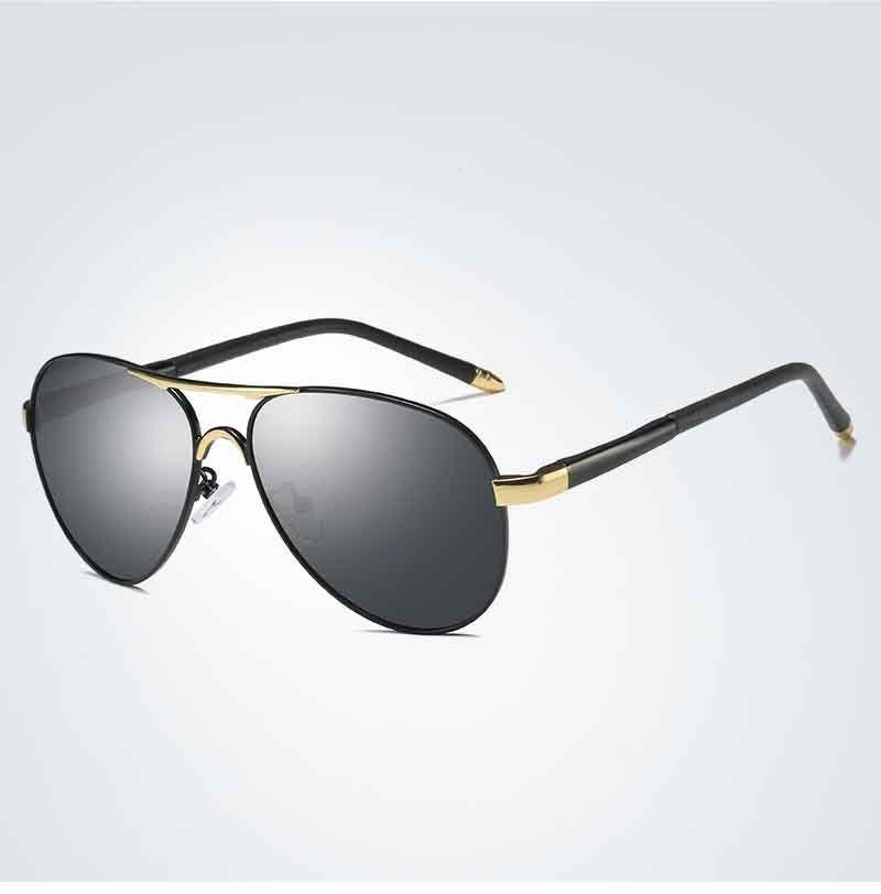 0ce8da0f9d Compre Marca Gafas De Sol Polarizadas Con Recubrimiento Espejado Gafas De  Sol De Conducción Gafas De Sol Gafas De Piloto Colorido Oculos Para Hombres  8503 A ...