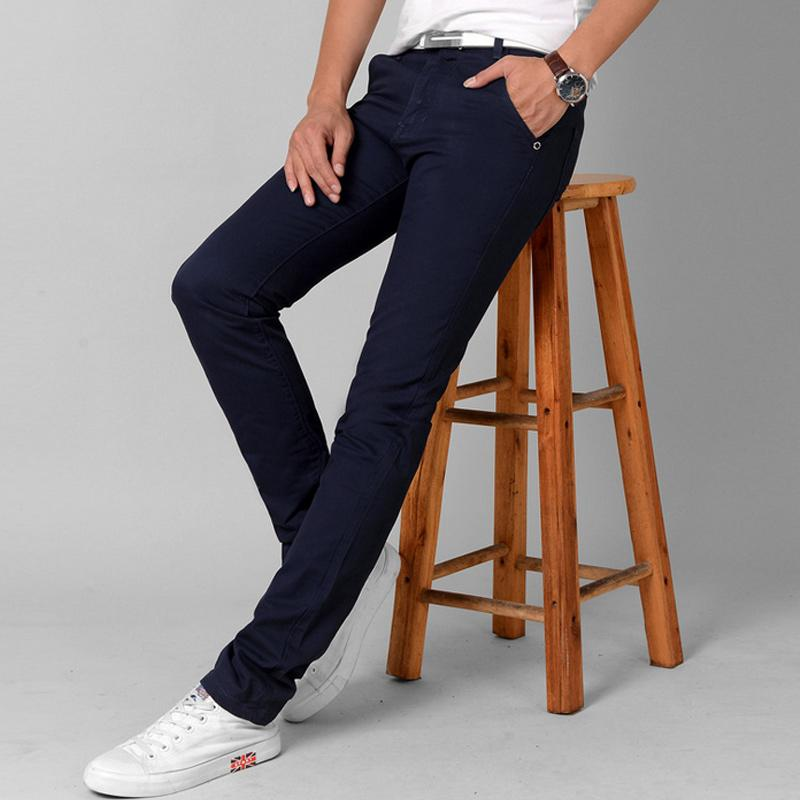 ad36c7a50b5 Fashion Men Slim Straight Casual Pants Cotton Linen Spring Summer Long  Trousers With Pockets MX8 UK 2019 From Liumeiwan