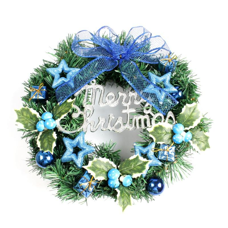 creative diy handmade christmas wreath decoration funny christmas style 2018 glass christmas ornaments good christmas decorations from glenae