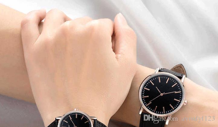 Kadın erkek sevgilisi kuvars saatler Kol Saatleri Ultra-ince alaşım yıldız İzle aynı Izle Patlayıcı çift Cenevre izle a545