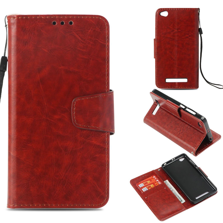 Huawei Handy Hüllen Flip Case Für Xiaomi Redmi 4a 4 A Redmi4a Retro Brieftasche Kartensteckplatz Ledertasche Für Xiaomi Redmi A4 Red Mi 4a Redmi4 A Outdoor