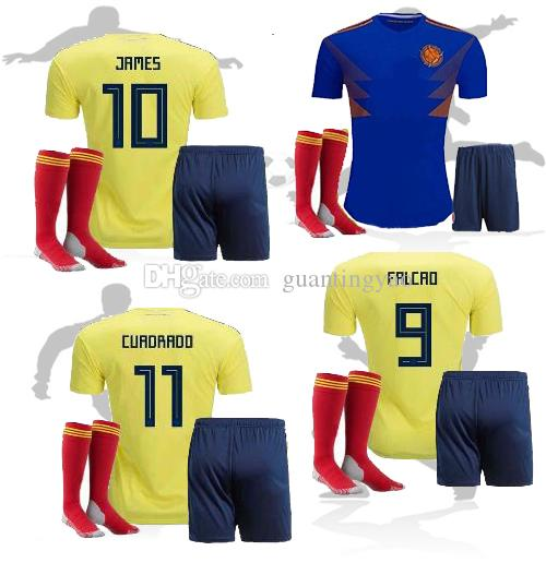 2018 Colombia Soccer Jersey Adult Kits Home Yellow Away Best ... | Best image of 44 best cheap distributors of home goods in norway 2018