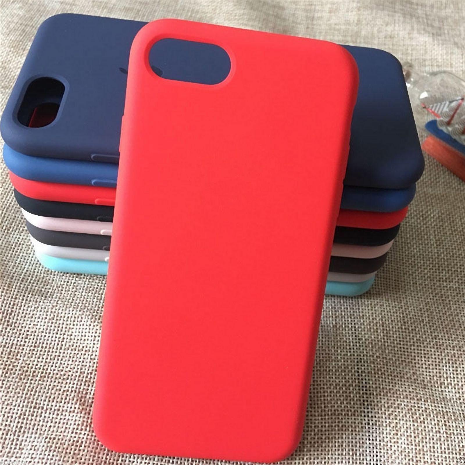 coque iphone 8 plus pomme apple silicone