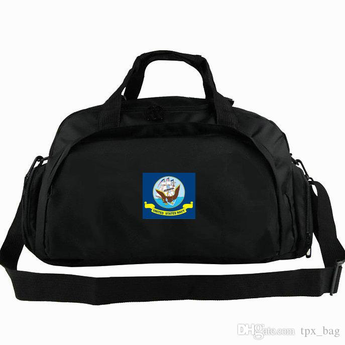 e399a8dc4f0e USN duffel bag US Navy flag tote United States army 2 way use backpack  Banner luggage Trip shoulder duffle Sport sling pack