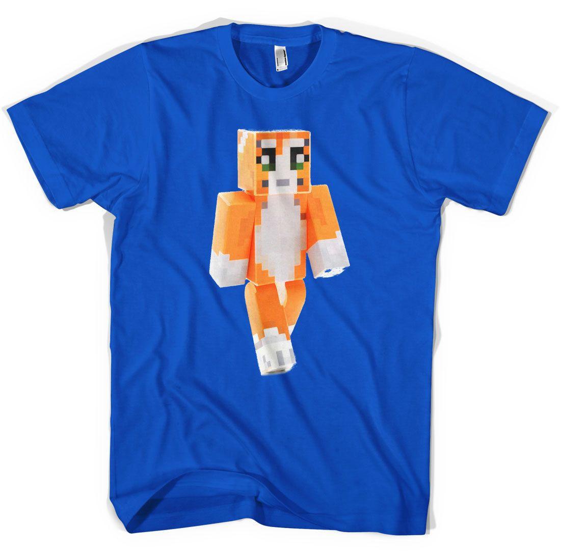 Stampylongnose Dan TDM T Shirt Gamers Adventure Kids Mens Unisex All  sizesUnisex Funny free shipping gift Casual tee