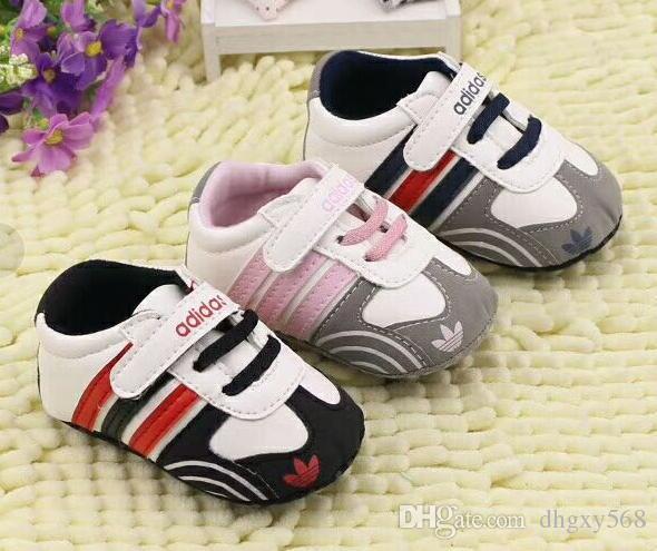 c6d7c1bed6f ... Nuevos Zapatos De Bebé De Marca Primeros Caminantes Tela De Algodón Infantil  Zapatos De Niña Zapatos De Suela Suave Recién Nacido Bebé Niños Calzado A  ...