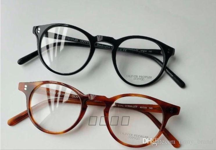 1a2685811d111 Compre Homens Mulheres 45 22 145 Óculos De Sol Quadro Oliver Peoples OV5183  Retro Óculos OV 5183 Retângulo Colorido Óculos De Sol Óculos Com Caixa  Original ...