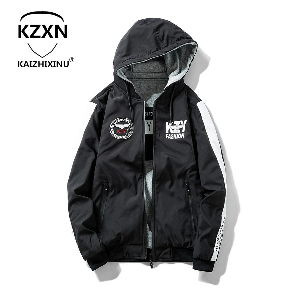 333cfe9775ac4 KAIZHIXINU Men Winter Jacket 2018 Brand Casual Mens Jackets And Coats Thick  Warm Jacket Men Parka Outerwear Coat Plus Size Denim Jacket With Wool Coat  For ...