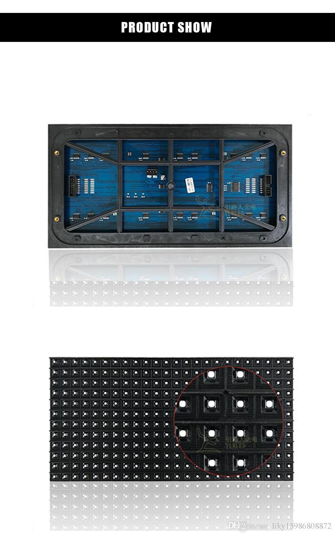 P13.33 Semi-ao ar livre SMD RGB 24 * 12pixels 1/3 unidade de LED tela de publicidade bordo varredura módulo de unidade LED artigo atacado