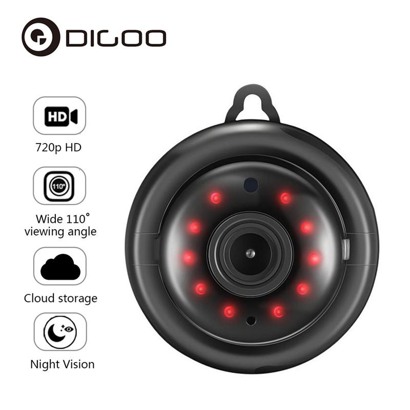 DIGOO DG-MYQ 2 1mm Lens 720P WIFI Night Vision Two-way Audio Home Security  IP Camera Motion Detection Onvif Monitor