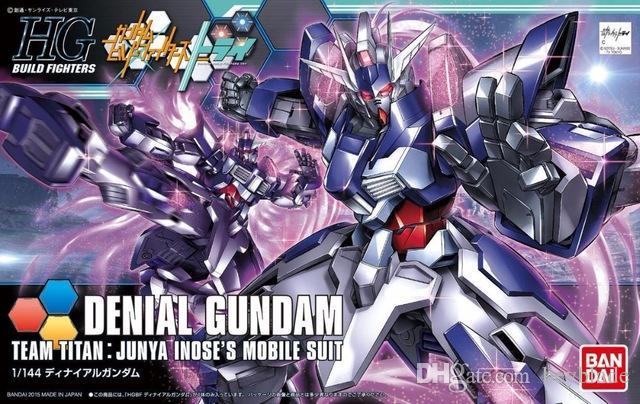 Bandai Jouets Titan Hg L En De Junya Hgbf Maquette Gros Mobilesuit Modèle Construction Lbx 037 Enfants 1pcs 37 Inose 1144 Équipe Denial Gundam TFKcl1J