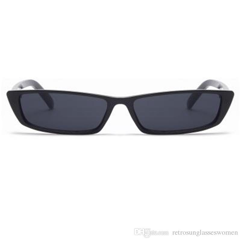 Compre Moda Mens Narrow Full Frame PC Óculos De Sol Anti UV UV400 Unisex  Óculos De Alta Qualidade Das Mulheres Adumbral Venda Frete Grátis De ... e8d6adf9a0