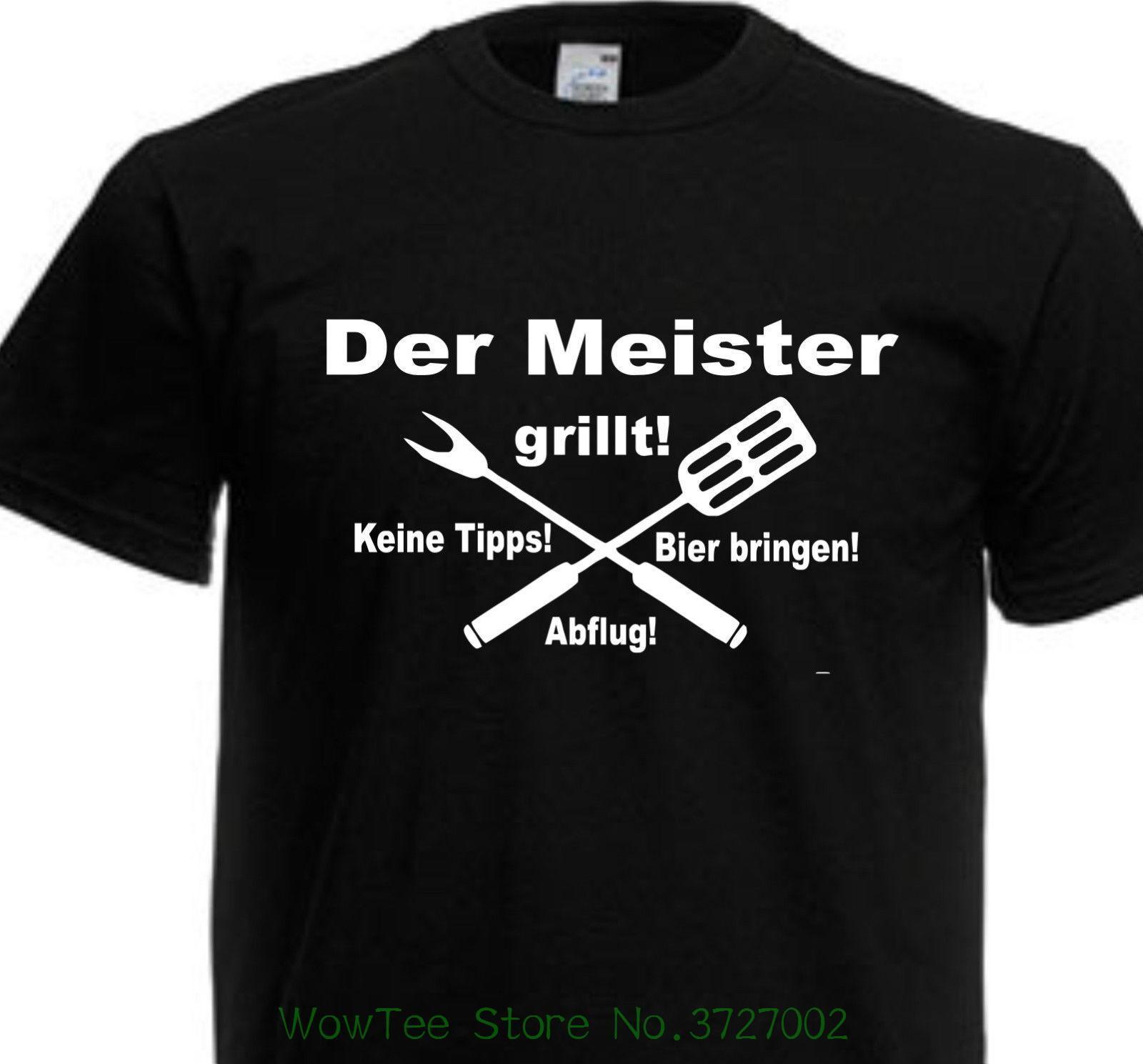 klassisch letzte Veröffentlichung 100% original T-shirt Grillen Grillfest Fun Spruch Lustig Bedruckt Farbe Schwarz Bis 5xl  Ek103 On Sale New Fashion Summer