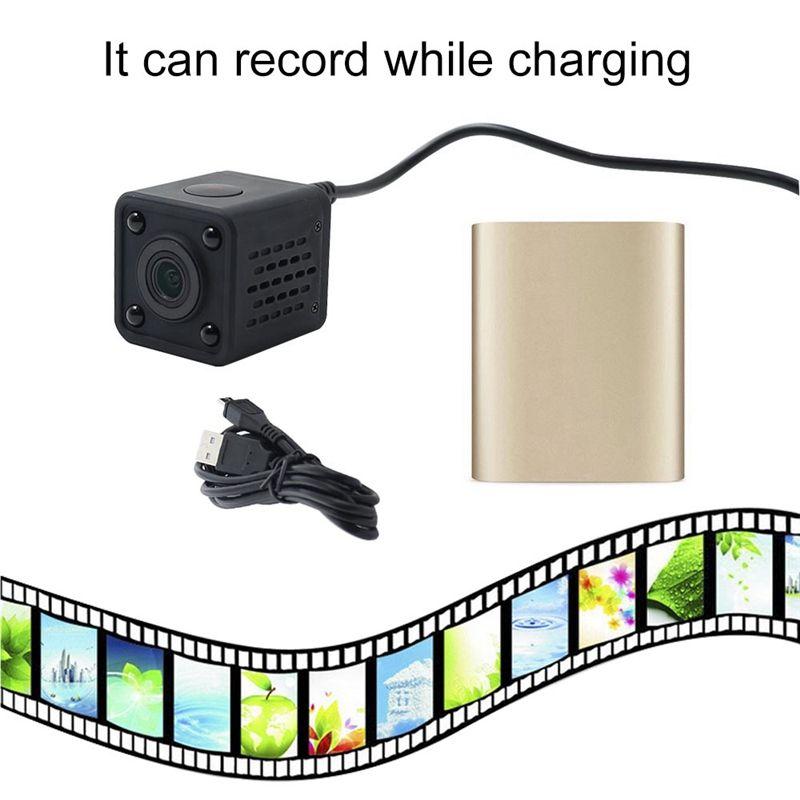 كاميرا لاسلكية واي فاي مصغرة ميني جيب كاميرا HD 1080P العروة الكاميرات الرقمية المحمولة DV مسجل 120 درجة زاوية مشاهدة الكاميرا HDQ9