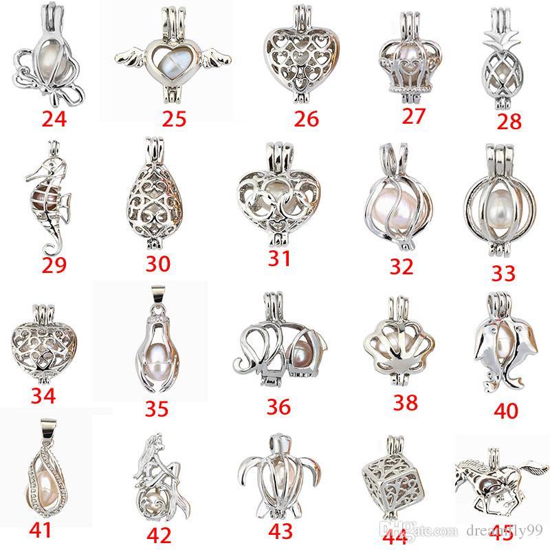 الأزياء والمجوهرات الفضة اللؤلؤ قفص مجوهرات المنجد قلادة النتائج قفص الضروري النفط الناشر المنجد لؤلؤة المحار
