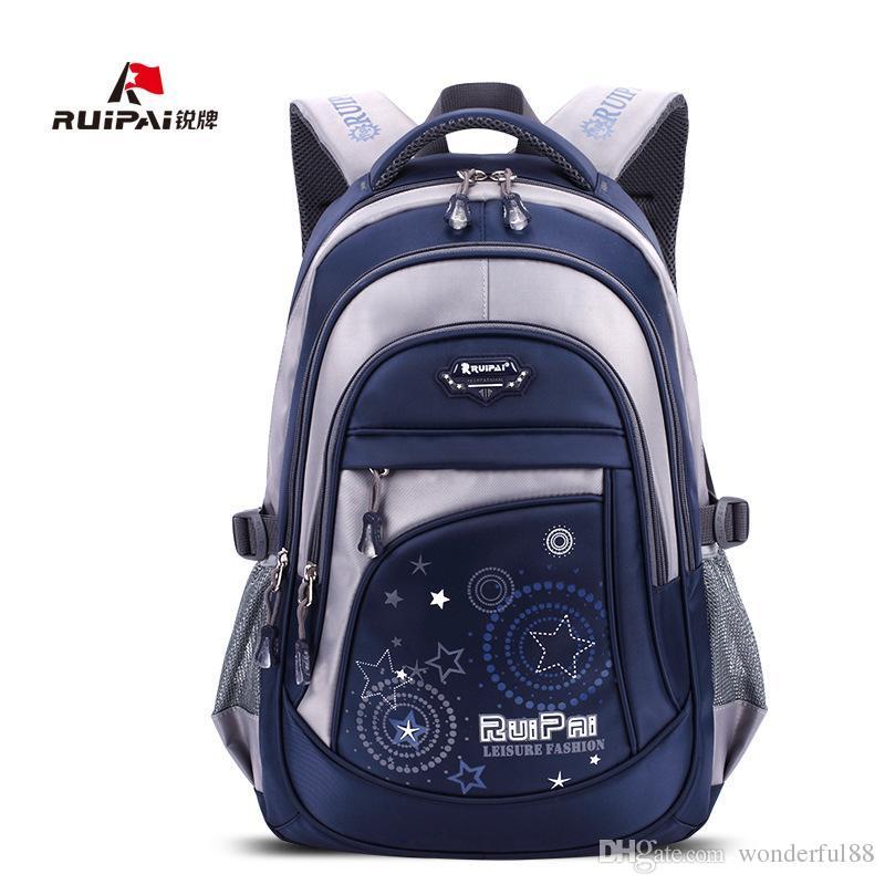 2e4fc0495c55 RUIPAI Рюкзак школьный полиэстер мода школьные сумки для девочек-подростков  и мальчиков высокое качество рюкзаки детские детские сумки