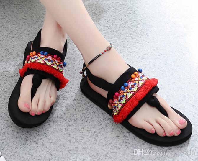 15141aa51d9 Women Summer Korean Version Comfortable Anti-skid Flip-flops ...