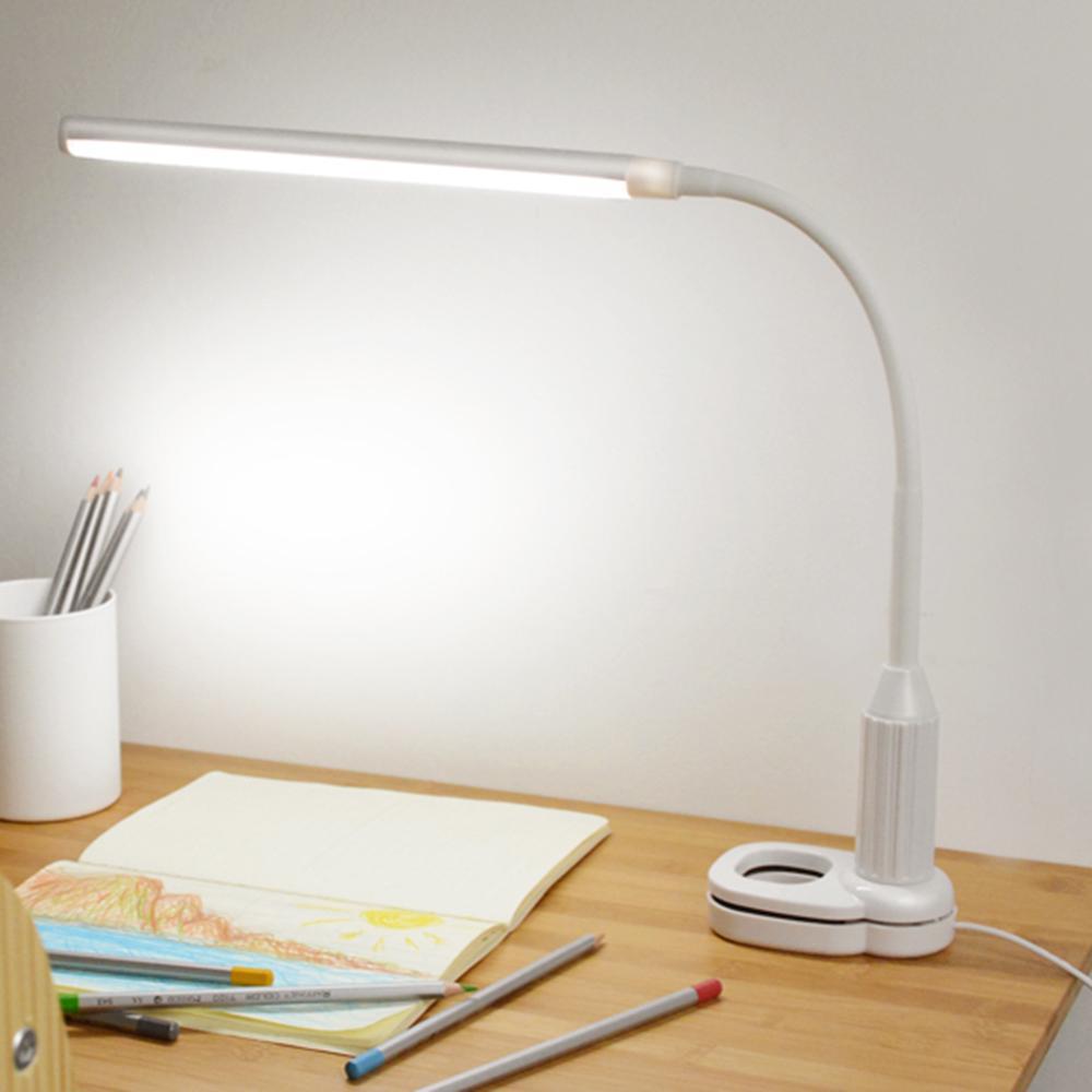 Schreibtischlampen Mini Studie Readig 4 Leds Tisch Licht Schreibtisch Lampe Augenschutz Batterie Powered