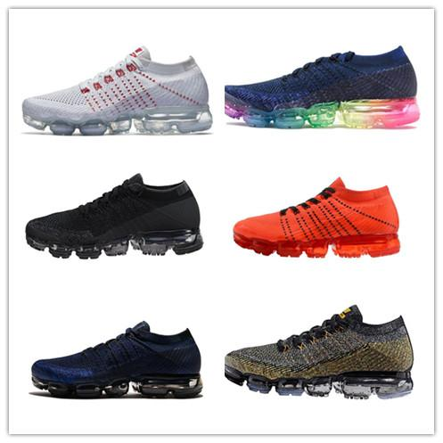Compre Compre Compre 2018 Vapormax Hombres Zapatos Casuales Para Hombres 16b774