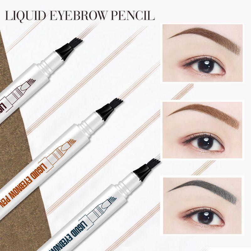 Macfee Microblading Eyebrow Tattoo Pen Fine Sketch Liquid Eyebrow