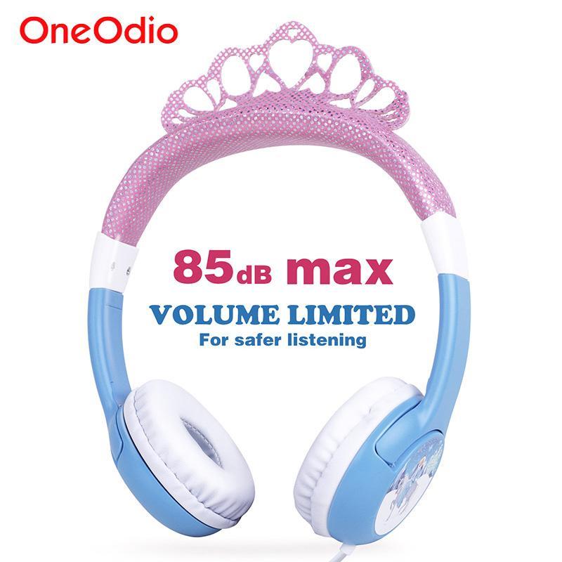 Acquista Oneodio Cute Cuffie Ragazze Bling Princess Crown Frozen Sicurezza  Bambini Fasce Cuffie Auricolare Regali Di Compleanno Xiaomi A  115.38 Dal  Oneodio ... 9744f1389e16