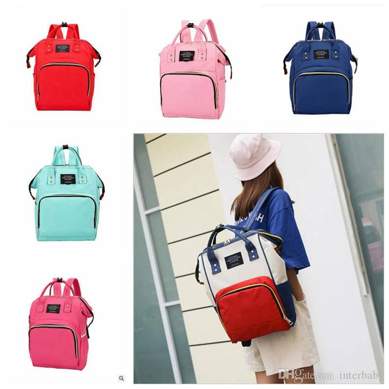 b2a810bb32 Diaper Maternity Bag Baby Nappies Backpacks Fashion Mother Backpack ...