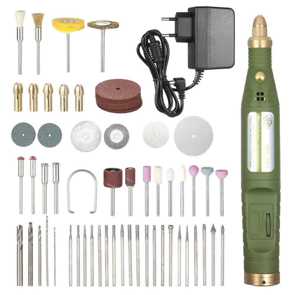 Mini Engraver Electric Grinder Variable Speed dremel drill Accessories Kit Electric Drill Grinding Engraving Polishing Tools