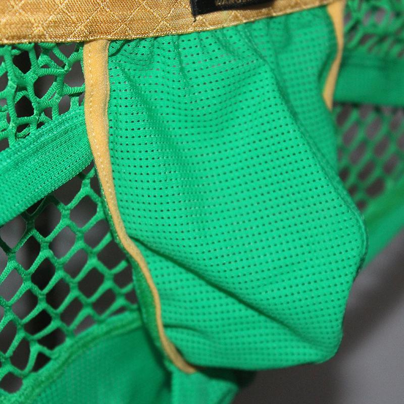 Sexy Mens Jockstrap Thongs Briefs Mesh Breathable Nylon Men Underwear Erotic Low Waist Penis Pouch Gay Mens Thong G-Strings Homme Underwear