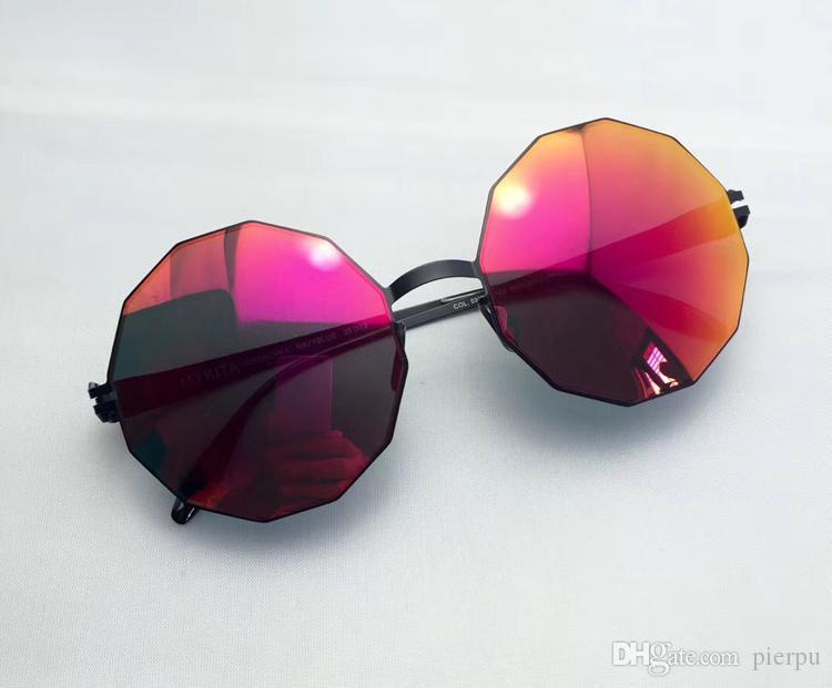 Compre Nuevas Gafas De Sol De Aviación Para Mujer 2018 Diseñador De La  Marca Hombre Diamante Gafas De Sol Hombres Espejo De Oro Rosa Gafas De Sol  Con ... b705b2aeeb46
