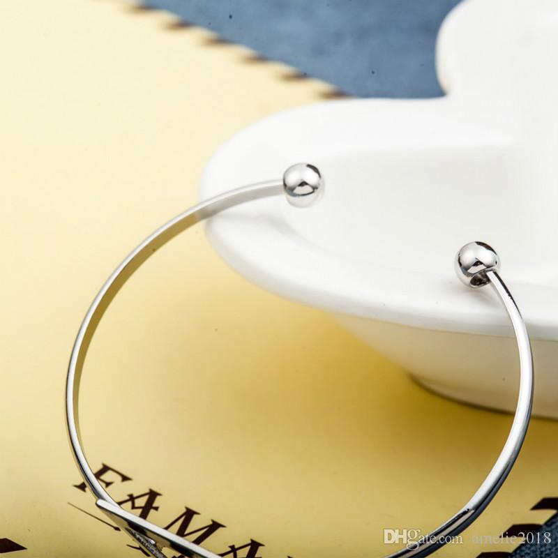Hollow Triangle Charm Bangles Gold Silver Black Geometric Alloy Bracelets Women Adjustable Open Bracelet Fashion Jewelry Gift