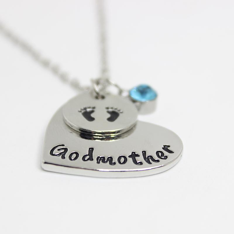 Wholesale personalized godmother necklace heart necklace baby feet wholesale personalized godmother necklace heart necklace baby feet charms pendant necklace gift ideas for godmother silver jewelry gold jewelry from aloadofball Gallery