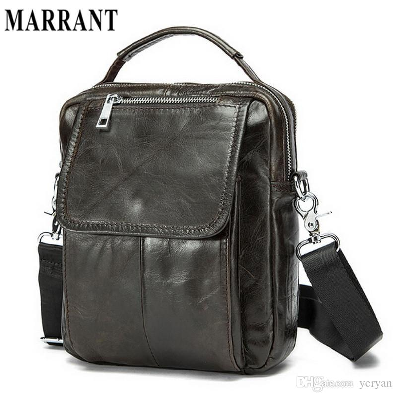 Wholesale Marrant 100% Genuine Leather Crossbody Bag Small Men Bags First  Layer Cow Leather Men S Messenger Bag Shoulder Bags Casual Small Purses  Designer ... bb80df2657e58