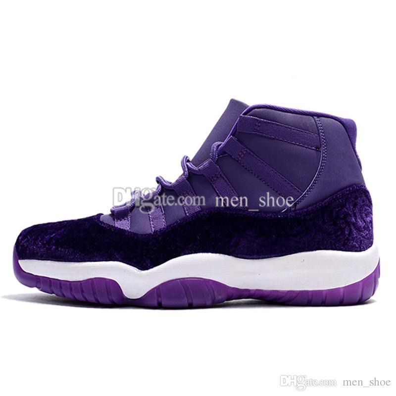 11 High top para hombre zapatos de baloncesto Midnight Navy Gym Red Patent leather + Nylon 11s mujer exterior cesta deportiva botas tamaño 36-47