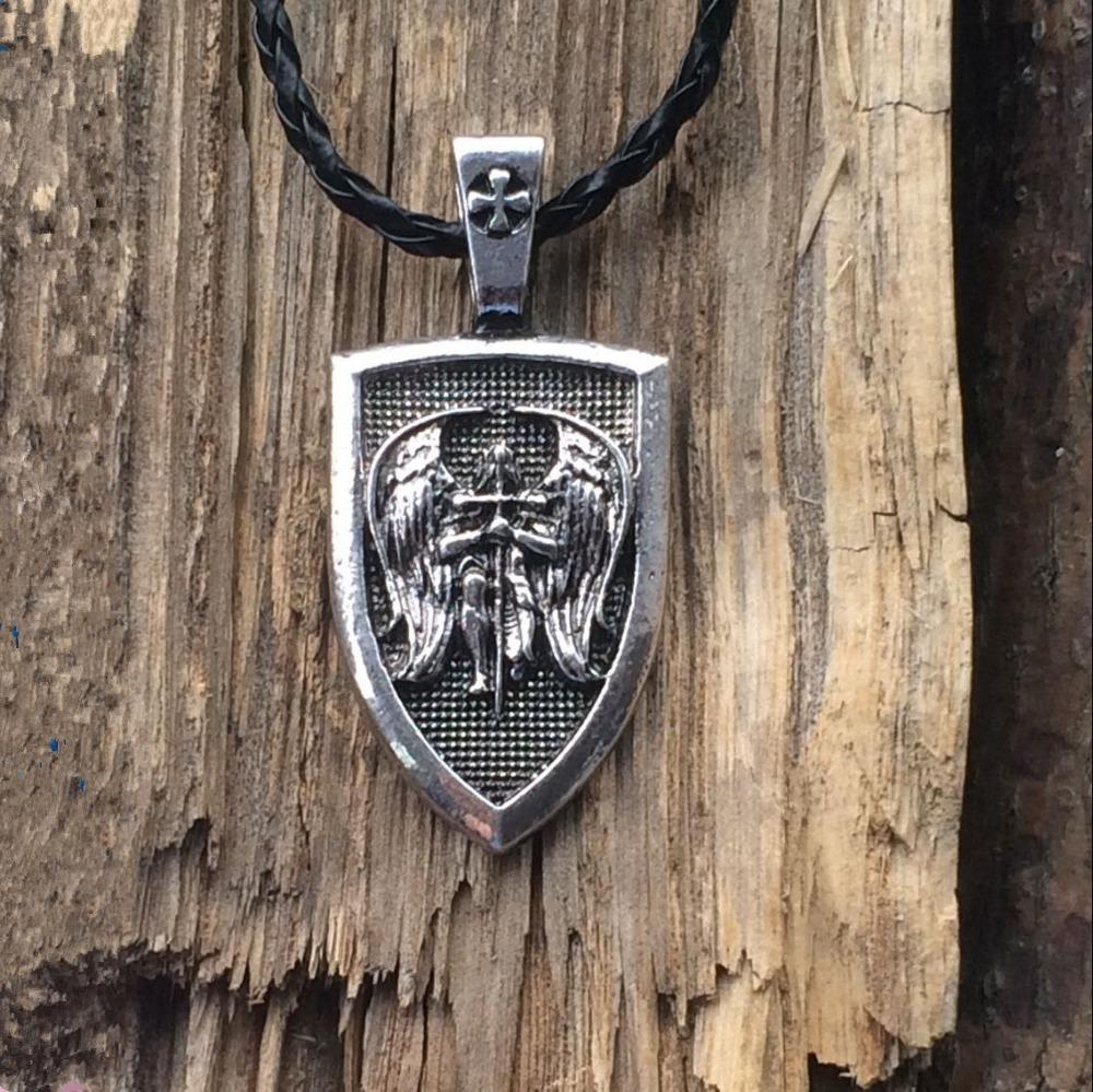 Archangel St Michael Protect Me Saint Shield Protection Charm