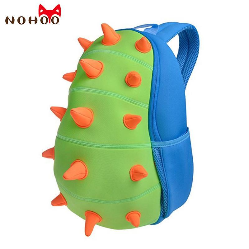 eeaa9aae5506 NOHOO Animals Waterproof Kids Baby Bags Kindergarten Neoprene Dinosaur  Children School Bags For Girls Boys Cartoon School Bags S914 Purses School  Bags From ...